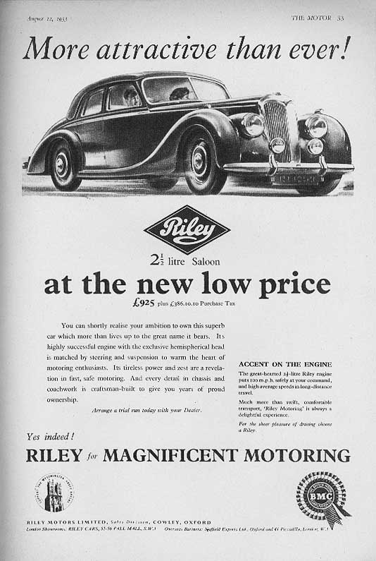 Vintage British Car Magazine Ads