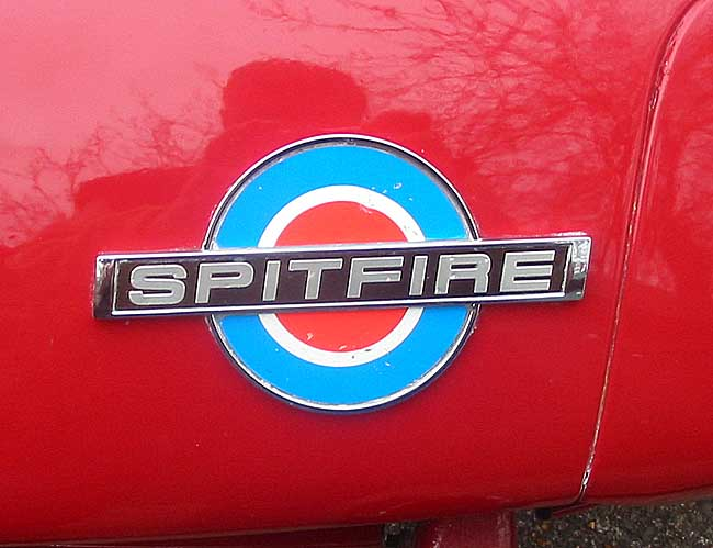 Triumph Spitfire Gt6 Decal And Badge Placement